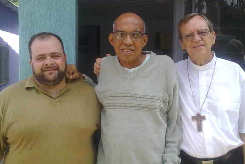 Padre Antonio Damázio, Padre Israel e Dom Célio